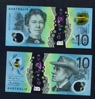 AUSTRALIA - 2017 $10 UNC - Dezimale Regierungsausgaben 1966-...