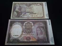 Portugal 50 , 1000 Centavos - Specimen - Copy - Portugal