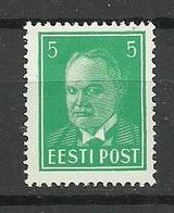 ESTLAND ESTONIA 1936 Michel 115 MNH - Estonie