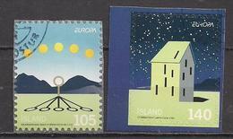 Island  (2009)  Mi.Nr.  1244 + 1245  Gest. / Used  (5af17)  EUROPA - 1944-... Republique