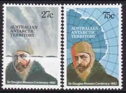 Australian Antartic Territory 1982 SC L53-54 Mint Never Hinged - Australian Antarctic Territory (AAT)