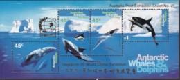 Australian Antartic Territory 1995 Whales Ovpt SC L97b  Mint Never Hinged - Australian Antarctic Territory (AAT)