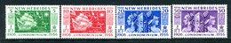 New Hebrides 1956 50th Anniversary Of Condominium Set MNH (SG 80-83) - English Legend