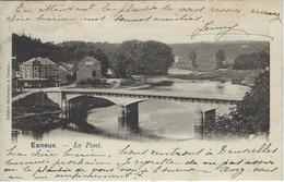 Esneux   -   Le Pont.  -   1902   Naar   Laeken - Esneux