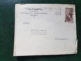 (16425) FRONTESPIZIO STORIA POSTALE ITALIA 1951 - 6. 1946-.. Repubblica