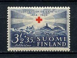 FINLANDE 1939 N° 212 ** Neuf MNH Superbe C 1.60 € Crix Rouge Champ De Bataille De Solférino Red Cross - Finlande