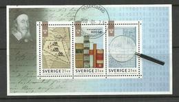 SCHWEDEN Sweden 2018 Staatsarchiv National Archives Block O - Blocks & Sheetlets
