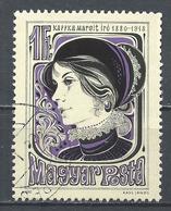 Hungary 1980. Scott #2650 (U) Margit Kaffka (1880-1918), Writer ** - Hungary