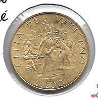 *vatican 200 Lire 1989  Km 217  Unc - Vatican
