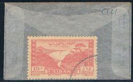 Lebanon C121 Used Bay Of Jounie 1947 (L0090) - Lebanon