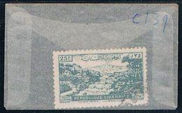 Lebanon C139 Used Lebanese Village 1948 CV 1.00 (L0095) - Lebanon