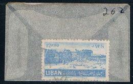 Lebanon 262 Used Ruins Of Baalbek 1952 (L0156) - Lebanon