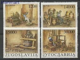 Yugoslavia 1989 Mi 2380-2383 MNH ( ZE2 YUG2380-2383 ) - Yougoslavie