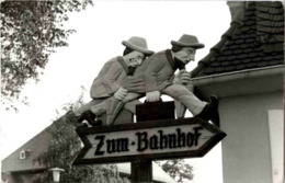 Bad Salzhausen - Nidda - Wegweiser Zum Bahnhof - Deutschland