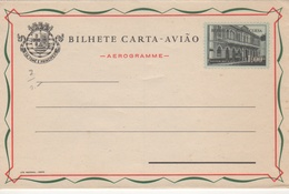 Portugal 1958 St. Thomas And Prince Islands Aerogramme, Air Letter H&G F6 MINT II - St. Thomas & Prince