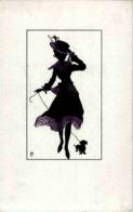Frau - Silhouettes