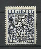 Estland Estonia 1939 CARITAS Michel 144 * - Estland