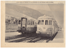 1963 - Iconographie - Piedimonte Matese (Campania) - La Gare - FRANCO DE PORT - Vieux Papiers