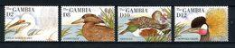 GAMBIE 1995 1787/1790 ** Neufs MNH Superbes C 11 € Faune Oiseaux Grue Aigrette Birds Canards Animaux - Gambie (1965-...)