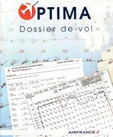 OPTIMA - Dossier De Vol  - Guide D'utilisation Départ Vol -  2014 - Manuali