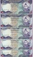 IRAK 10 DINARS 1982 XF+ P 71 ( 5 Billets ) - Iraq