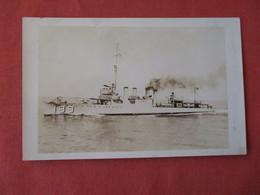 RPPC--Destroyer  USS Dallas   Ref 3158 - Oorlog