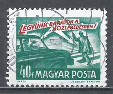 Hungary 1973. Scott #2247 (U) ''Let's Be Friends In Traffic'' Traffic Rules * - Hungary