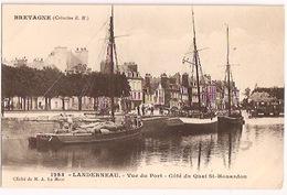 LANDERNEAU - Vue Du Port - Côté Du Quai St-Houardon - Landerneau