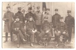 Carte-Photo : Groupe D'Officiers Du 26e Régiment D'infanterie Stationné à Nancy. - Personnages