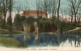 LILLE........jardin Vauban   La Grotte - Lille