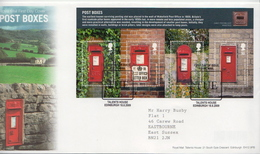 Great Britain SS On FDC - Post
