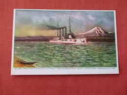 US Battleship Nebraska Built By Moran Bros. In Seattle WA.   Ref 3158 - Oorlog