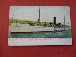 US Dynamite Gunboat Vesuvius    Ref 3158 - Krieg