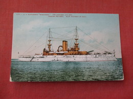 US  Battleship Wisconsin    Ref 3158 - Oorlog