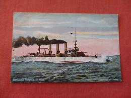 US  Battleship Virginia  Ref 3158 - Oorlog