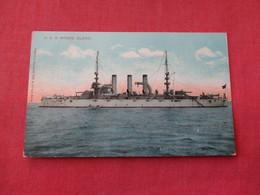 USS Rhode Island     Ref 3158 - Oorlog