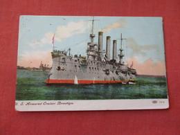 US  Armored Cruiser Brooklyn    Ref 3158 - Krieg
