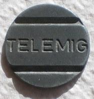 Brasil Telephone Token  TELEMIG Telecomunicações De Minas Gerais - Monetary /of Necessity