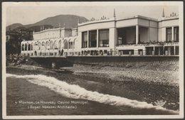 Le Nouveau Casino Municipal, Menton, 1935 - Munier Photo CPSM - Menton