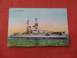 USS Arkansas      Ref 3158 - Oorlog