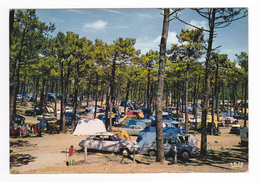 Camping Côte Atlantique N°1795 VOIR ZOOM Autos Citroën DS Renault Dauphine OPEL Peugeot 203 403 Simca Ariane - Turismo