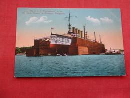 USS Pennsylvania Dry Dock Olongapo Philippines  Ref 3158 - Krieg