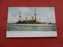 USS  Unarmored Or Protected Cruiser Olympia-- Tuck Series Ref 3158 - Oorlog