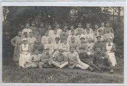 Carte Photo (Feldpost)  Braasschat Kriegslazarett- Hôpital 1918 - Brasschaat
