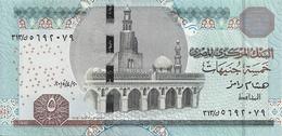 EGYPTE 5 POUNDS 2015 UNC P 63 - Egypte