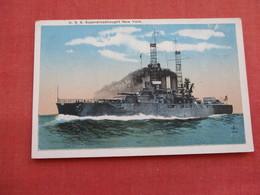 USS Superdreadnought  New York  Ref 3158 - Oorlog