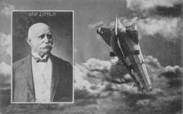 PORTRAIT DR FERDINAND GRAF Von ZEPPELIN-LUFTSCHIFF-DIRIGIBLE PHOTO 1909 POSTCARD 38910 - Other