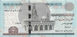 EGYPTE 5 POUNDS 2017 UNC P 63 - Egypte