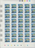 Faciale 18.40 Eur ; Feuille De 40 Tbs à 0.46 N° 3476 (cote 40 Euros) - Full Sheets