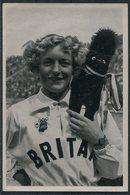 1936 Germany Berlin Olympics Olympia Sammelwerk 14 Bild 96 Gruppe 57 British Swimmer Ruthley Moris-Hancock - Trading Cards